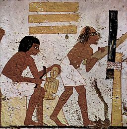Ancient Egyptian woodworking via Wikipedia
