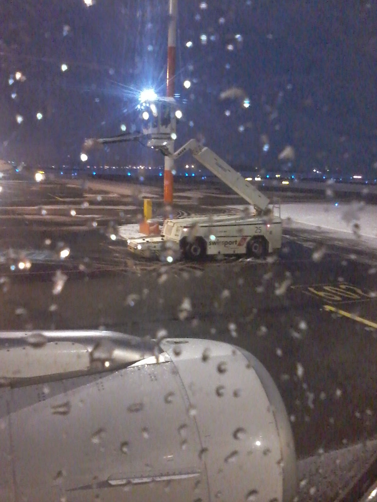 Deicing at EFHK