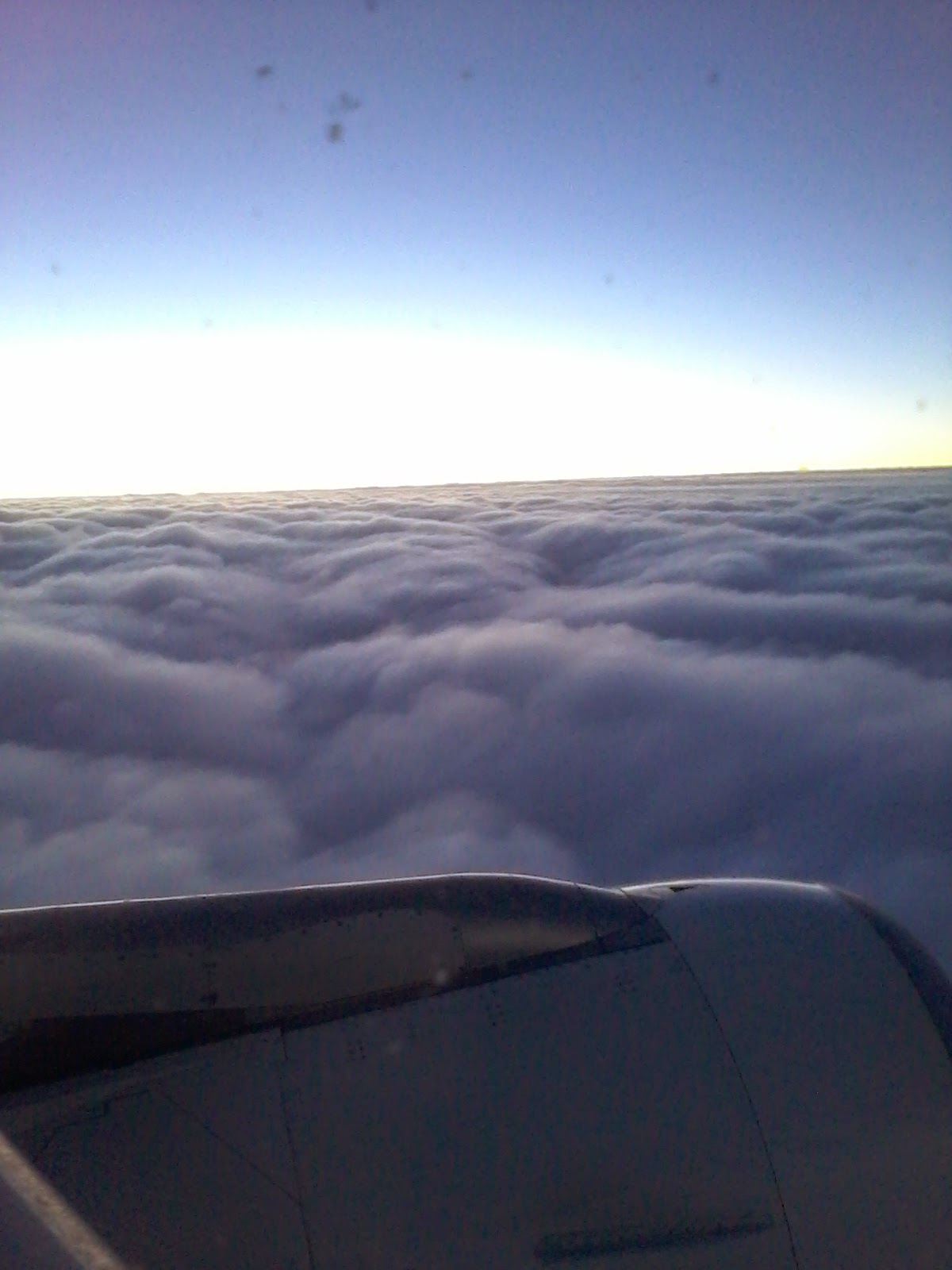 Barely above the clouds