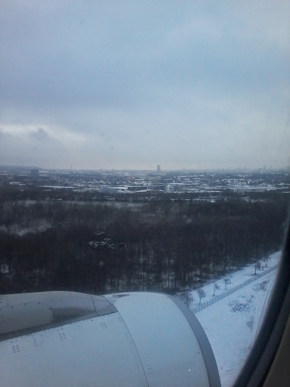 On short final to DUS